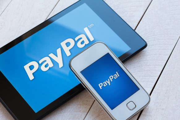 PayPal Casino Background