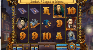 Sherlock A Scandal In Bohemia Slot