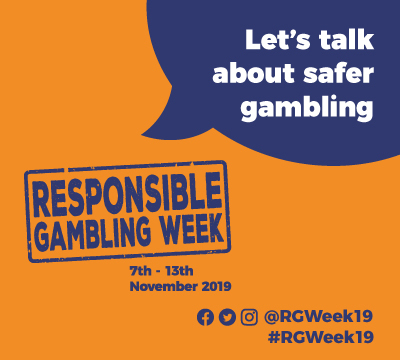 Responsible Gambling Week banner
